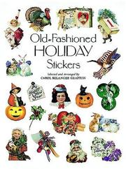 Cover of: Old-Fashioned Holiday Stickers