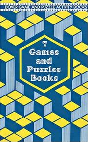 Cover of: 7 Games and Puzzles Books | Dover Publications, Inc.