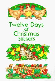 Cover of: Twelve Days of Christmas Stickers