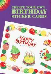 Cover of: Create Your Own Birthday Sticker Cards