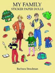 Cover of: My Family Sticker Paper Dolls | Barbara Steadman