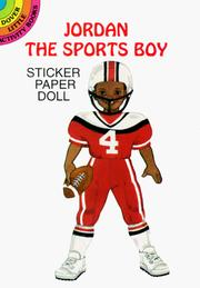 Cover of: Jordan the Sports Boy Sticker Paper Doll (Dover Little Activity Books) | Sylvia Walker
