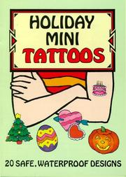 Cover of: Holiday Mini Tattoos | Cathy Beylon