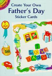 Cover of: Create Your Own Father's Day Sticker Cards