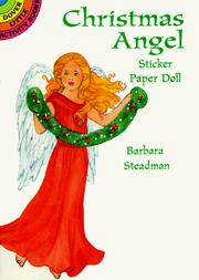 Cover of: Christmas Angel Sticker Paper Doll