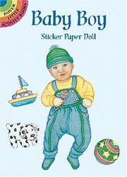 Cover of: Baby Boy Sticker Paper Doll