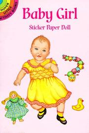 Cover of: Baby Girl Sticker Paper Doll