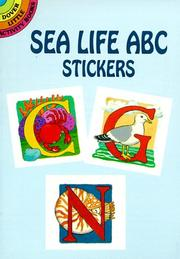 Cover of: Sea Life ABC Stickers