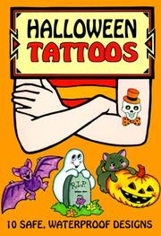 Cover of: Halloween Tattoos | Robbie Stillerman