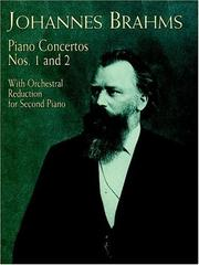 Cover of: Piano concertos nos.1 & 2: With Orchestral Reduction for Second Piano