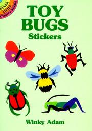 Cover of: Toy Bugs Stickers (Dover Little Activity Books) | Winky Adam