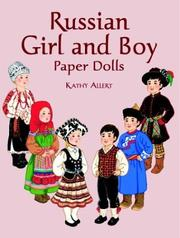 Cover of: Russian Girl and Boy Paper Dolls