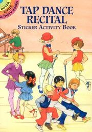 Cover of: Tap Dance Recital Sticker Activity Book