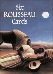 Cover of: Six Rousseau Cards