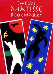 Cover of: Matisse with Bookmark