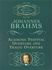 Cover of: Academic Festival Overture and Tragic Overture