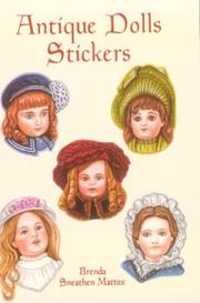 Cover of: Antique Dolls Stickers | Brenda Sneathen Mattox