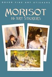 Cover of: Morisot