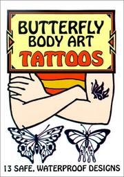 Cover of: Butterfly Body Art Tattoos