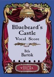 Cover of: Bluebeard's Castle Vocal Score
