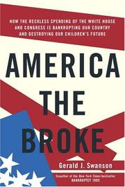 Cover of: America the broke