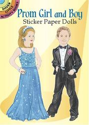 Cover of: Prom Girl and Boy Sticker Paper Dolls