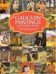 Cover of: Gauguin Paintings Giftwrap Paper