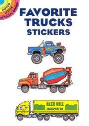 Cover of: Favorite Trucks Stickers | Bruce LaFontaine