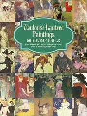Cover of: Toulouse-Lautrec Paintings Giftwrap Paper