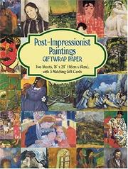 Cover of: Post-Impressionist Paintings Giftwrap Paper