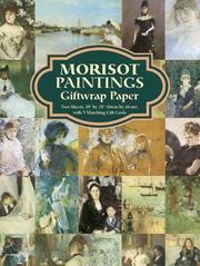 Cover of: Morisot Paintings Giftwrap Paper