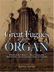 Cover of: Great Fugues for Organ