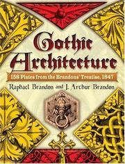 Cover of: Gothic Architecture | Raphael Brandon