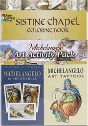 Cover of: Michelangelo Art Activity Pack | Dover Publications, Inc.
