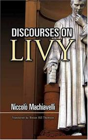 Cover of: Discourses on Livy