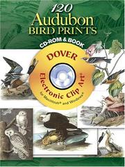 Cover of: 120 Audubon Bird Prints CD-ROM and Book