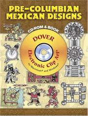 Cover of: Pre-Columbian Mexican Designs CD-ROM and Book