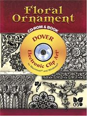 Cover of: Floral Ornament CD-ROM and Book