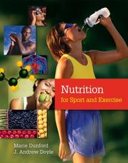 Cover of: Nutrition for sport and exercise