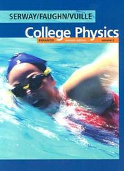 Cover of: Enhanced College Physics, Volume 2 (with PhysicsNOW)