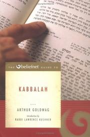 Cover of: The Beliefnet Guide to Kabbalah (Beliefnet Guides)