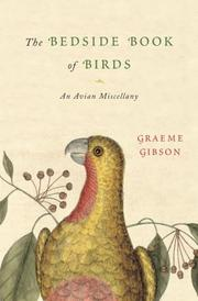 Cover of: The Bedside Book of Birds | Graeme Gibson