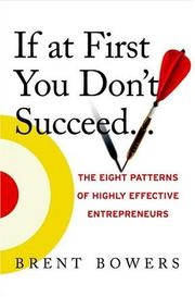 Cover of: If at First You Don't Succeed..