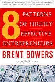Cover of: 8 Patterns of Highly Effective Entrepreneurs
