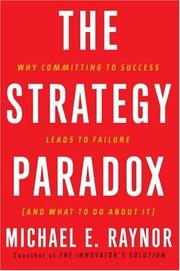 Cover of: The Strategy Paradox