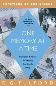 Cover of: One Memory at a Time