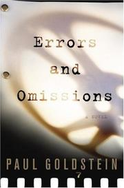 Cover of: Errors and omisions | Paul Goldstein
