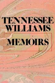 Cover of: Memoirs