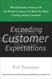 Cover of: Exceeding Customer Expectations