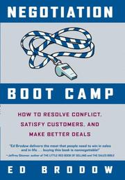 Cover of: Negotiation Boot Camp